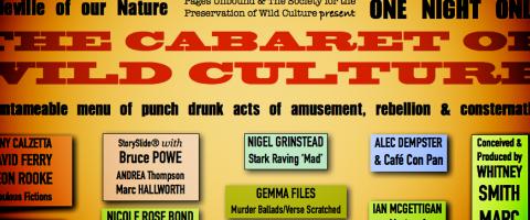 Cabaret of Wild Culture poster, ©2015